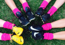 Pink socks day was a huge success