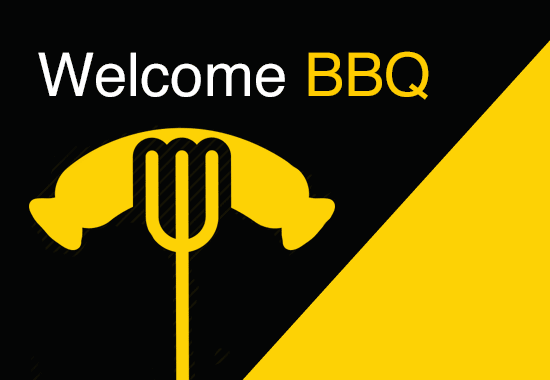 Welcome BBQ – so much fun, we're having another one!