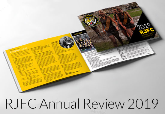 RJFC Annual Review 2019 – Now Out