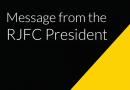 Message from the RJFC President