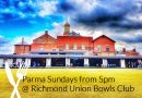 Sunday night at the Bowls Club – on again this Sunday