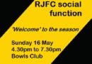 RJFC social functions
